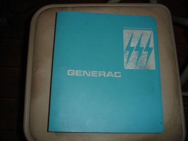 Generac Generator Xp Xpt Alternators Installation Repair Manual Guide