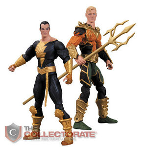 DC-Collectibles-AQUAMAN-VS-BLACK-ADAM-Action-Figure-2-Pack-NEW