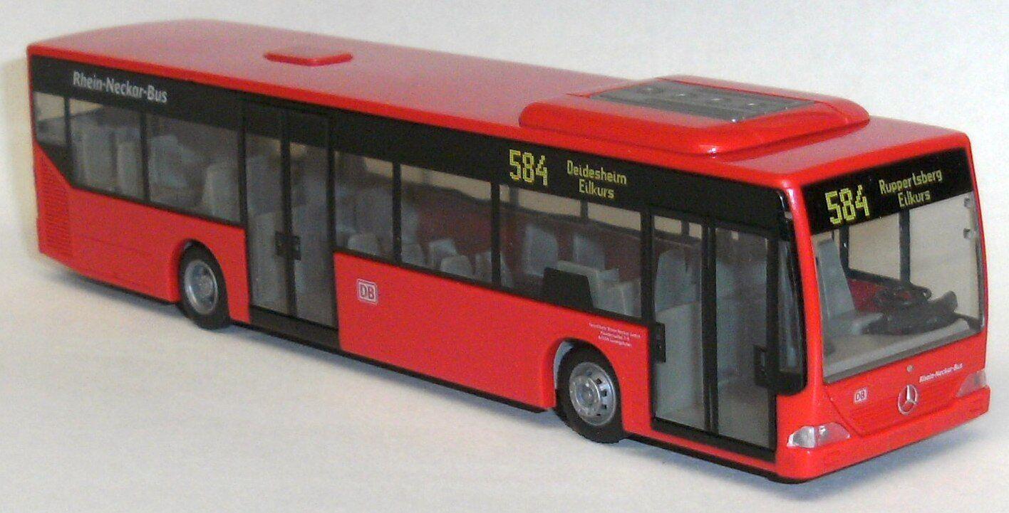 Rietze 66666 -3 Mercedes Citaro buss linie 584 Deidesheim 1 87 NEU & OVP