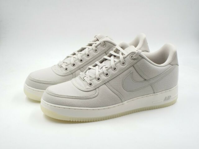 d1f24280d Men's Nike Air Force 1 Low Retro QS CNVS Size 10.5 (AH1067 003) Bone