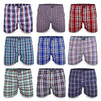 10 Pack Boxershorts American Style Unterhosen Webboxer Retro Baumwolle Herren