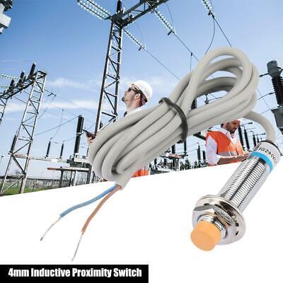 LJ12A3-4-Z//DX Inductive Proximity Sensor DC 2-Wire Normally Close Proximity Switch 4mm