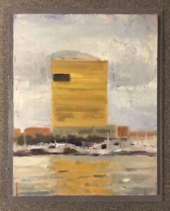 Water-Club-Borgata-10-x-8-Atlantic-City-New-Jersey-original-oil-painting