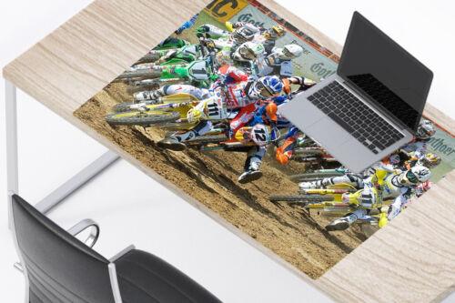 Schreibunterlage MOTOCROSS Schreibtischunterlage rutschfest