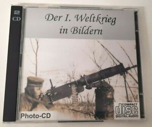 Photo-CD Der I. Weltkrieg in Bilden (2cd) 2500 photos originales