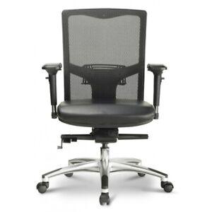 Corp Design Argento Mesh Desk Office Chair Ergonomic Executive Task Chair