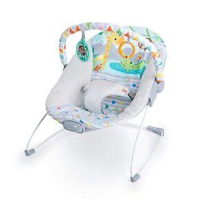Bright starts Babywippe Safari-Spaß mit beruhigenden Vibrationen