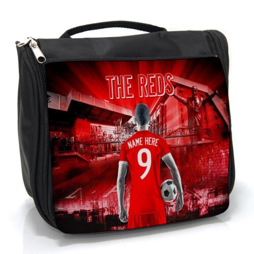Personnalisé Liverpool Football Lavage Sac homme de voyage toilettage Case AF78