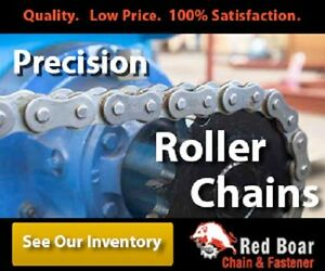 #80 Riveted Roller Chain 10ft With 1 Connecting links 1 Pitch
