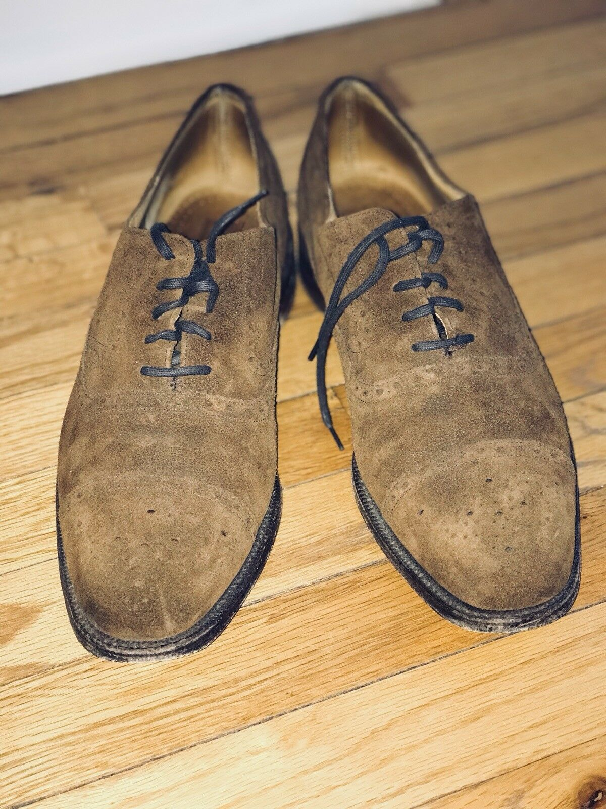 Cheaney Men's Loafer Braun Suede Oxford Dress Loafer Men's Schuhe 1b3a19