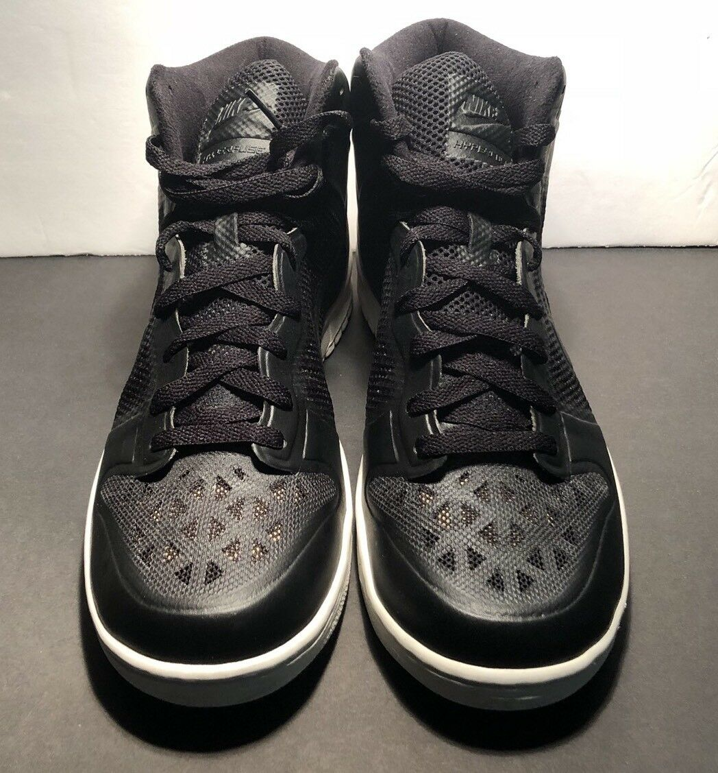 Nike Dunk Hi Fuse - 431978 001 - Back to School Shoes - Size 12