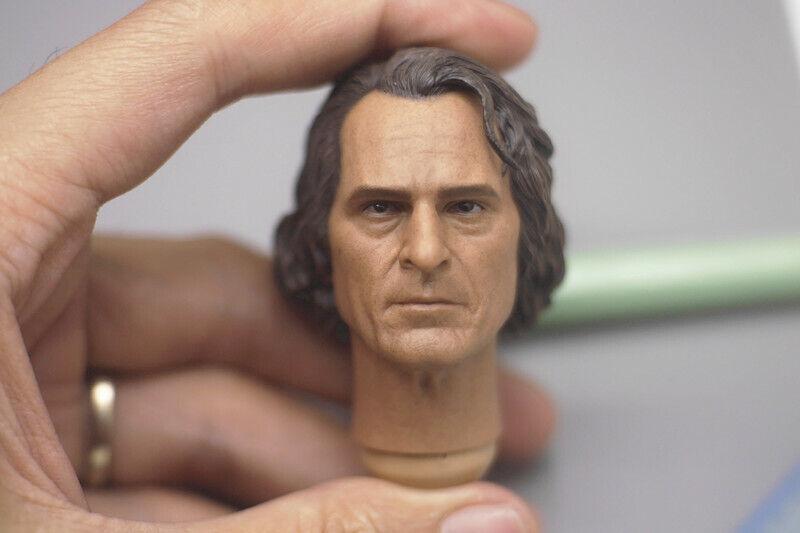 TOP-001 1 6 Scale The Joker Joaquin phoenix Head Sculpt For 12  Figure