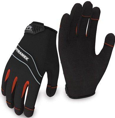 S Pyramex Safety GL101 Light Duty Work Gloves w// Touch Screen Function XXL