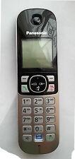 Panasonic KX-TG6811 auricular de teléfono KX-TG6821 KX-TG6891 KX-TGA682E Sin Pilas