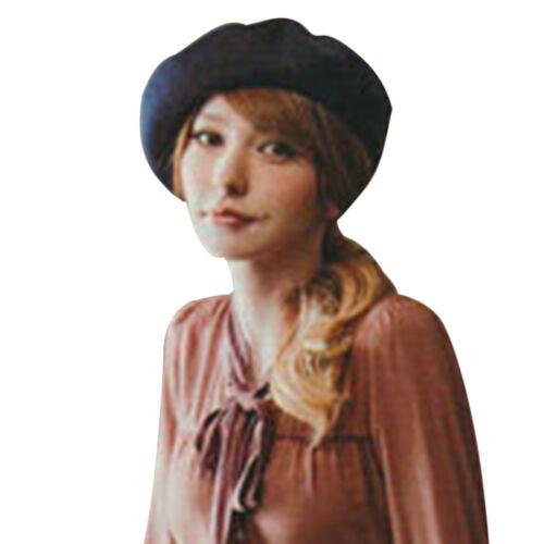 HX Fashion Hommes Femmes Laine Hiver Chaud Beret Chapeau Bonnet Style Français Cadeau