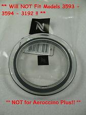 Nespresso Aeroccino 3 Citiz & Milk Frother Steamer Replacement Lid & Gasket NEW