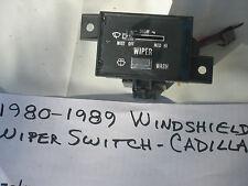 1980-1989 CADILLAC WINDSHIELD WIPER SWITCH,SEVILLE,FLEETWOOD,ELDORADO,DEVILLE