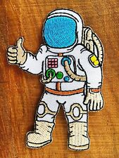 Astronaut Embroidered Patch Arm stickers for iron or sew on Jacket New.