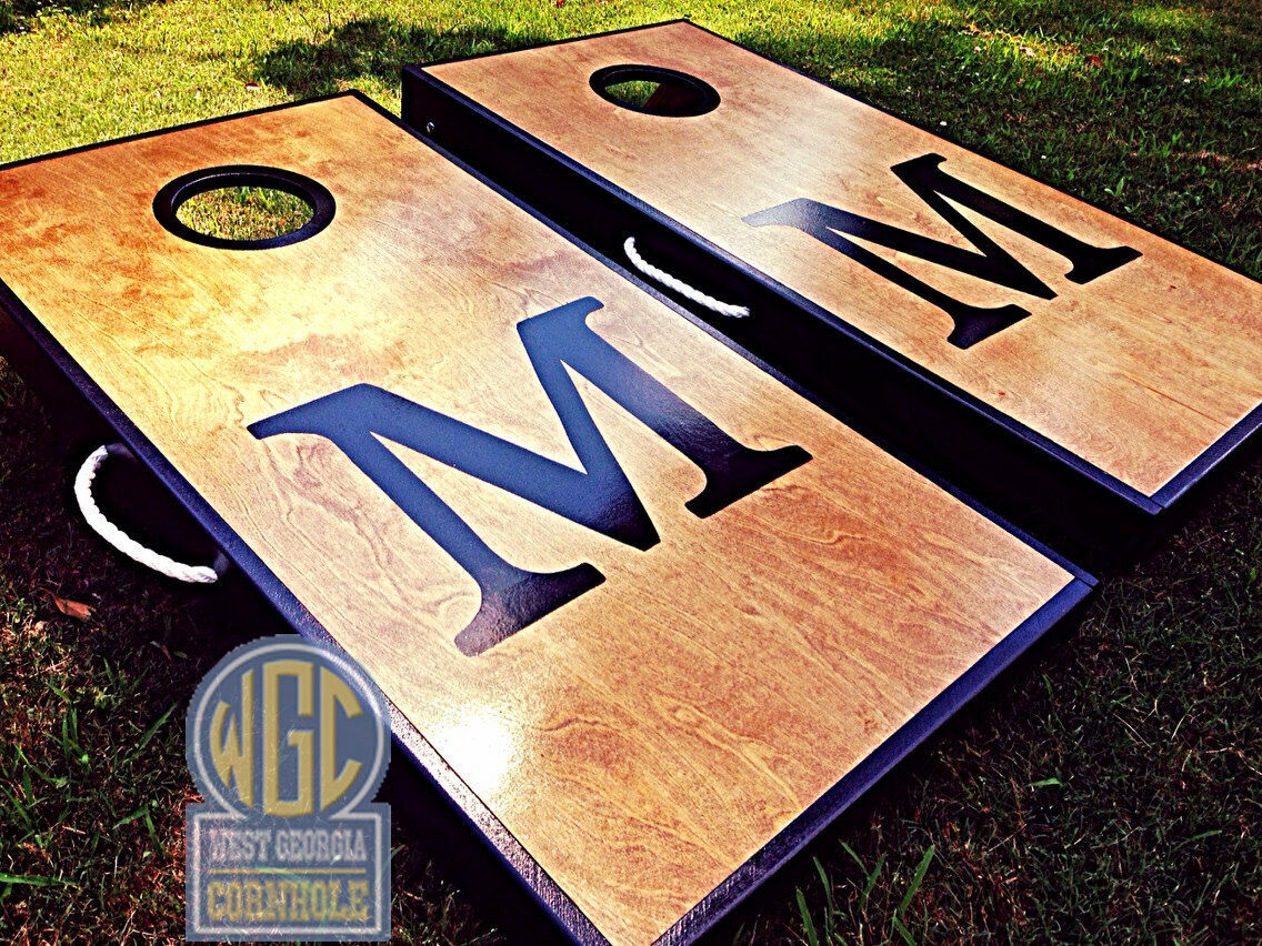 Big Letter Cornhole Board  Set  outlet store