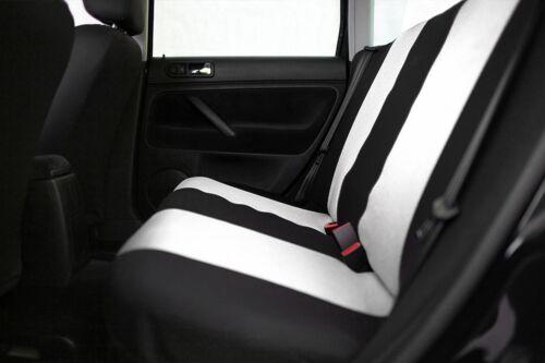 Sitzbezüge Sitzbezug Schonbezüge für Dacia Sandero Hellgrau Sportline Set