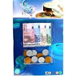 Spielgeld Für Kaufladen Euro Scheine Münzen 36 Teilig Ebay