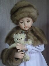 AllforDoll OOAKFUR Set for Antique Repro Jumeau Bru Marseille Dianna Effner Doll