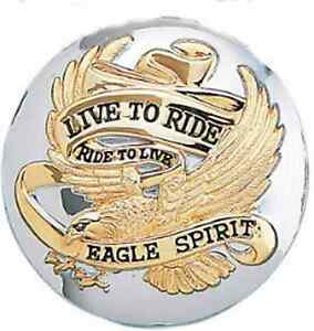 LIVE-TO-RIDE-GAS-CAP-HARLEY-NON-VENTED-GOLD-84-96-HD
