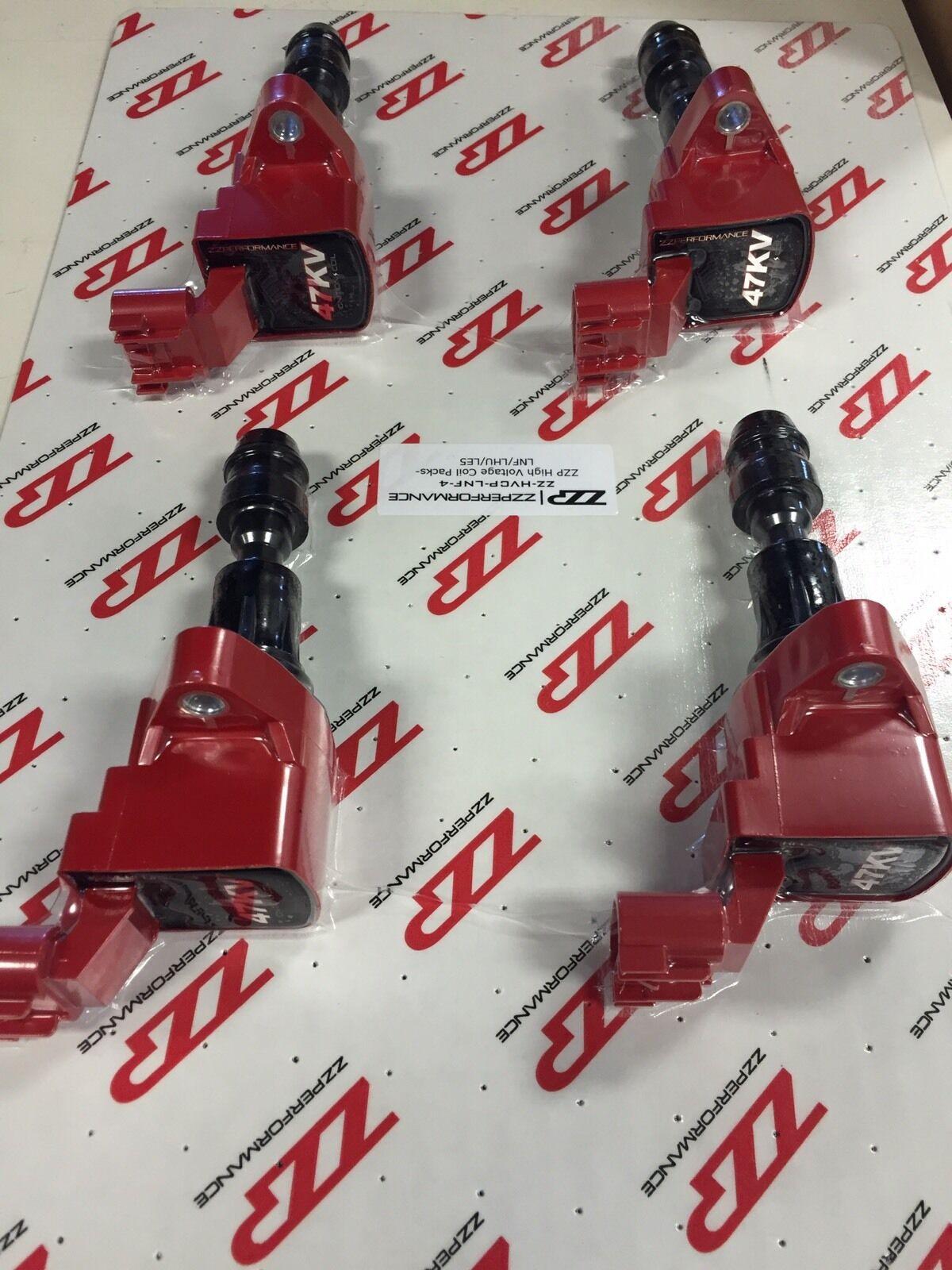 Détails : ZZPerformance Hi Voltage Ignition Coil Set 2007-12 Ecotec 2 0  Turbo Cobalt Regal