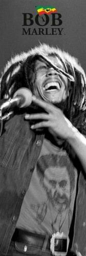 Bob Marley Black and White Door Poster 53cm x 158cm new and sealed