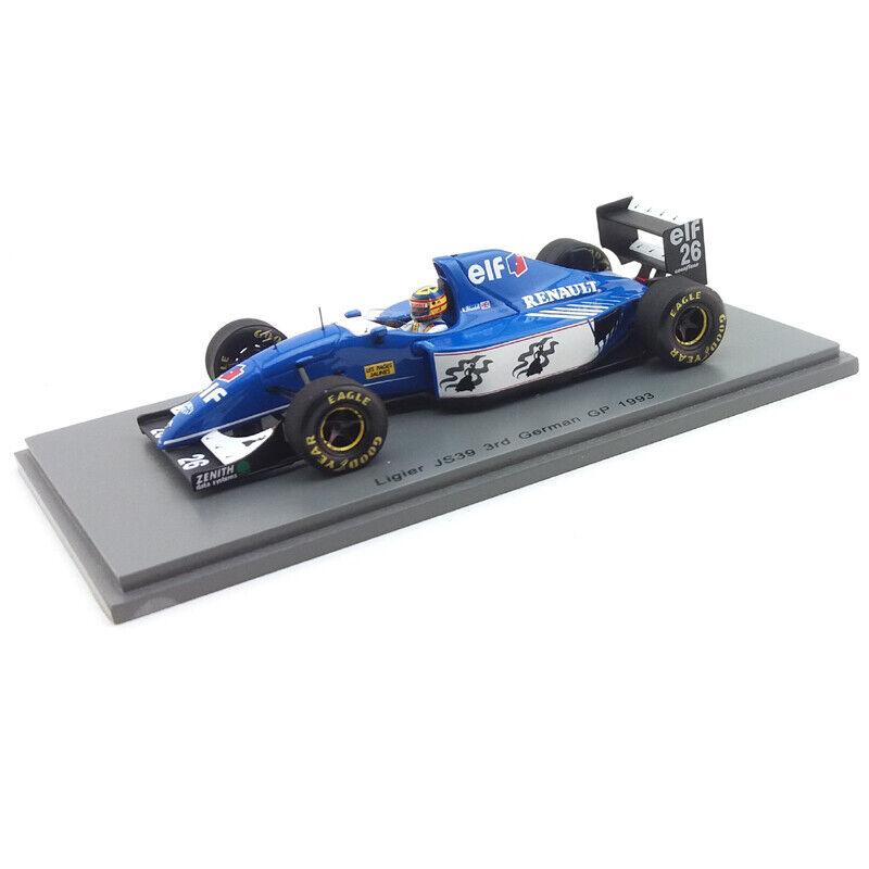 1993 Mark bleundell Ligier JS39 German GP - 1 43 Spark Models