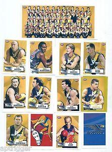 2001 Team & Player Sticker Collection WEST COAST (20 Stickers)