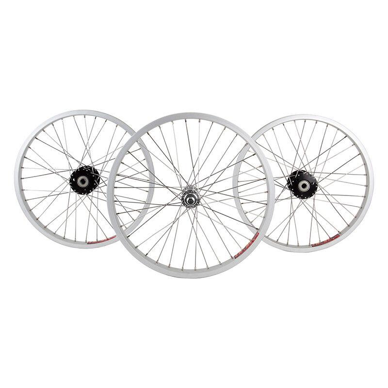 WM Wheels  Set 20x1.75 406x25 Aly Sl 36 Aly 3 8 Bo Trike 15mm Bk Ss2.0sl