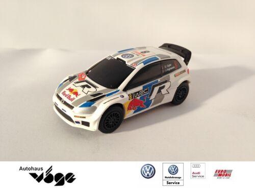 Original Polo R WRC modelo 1:64 con rückziehfunktion pull-back