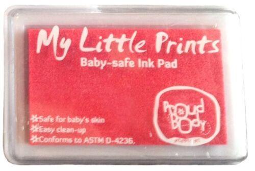 or Black Blue Choose Pink Baby SAFE NONTOXIC Hand Print Footprint INK PAD