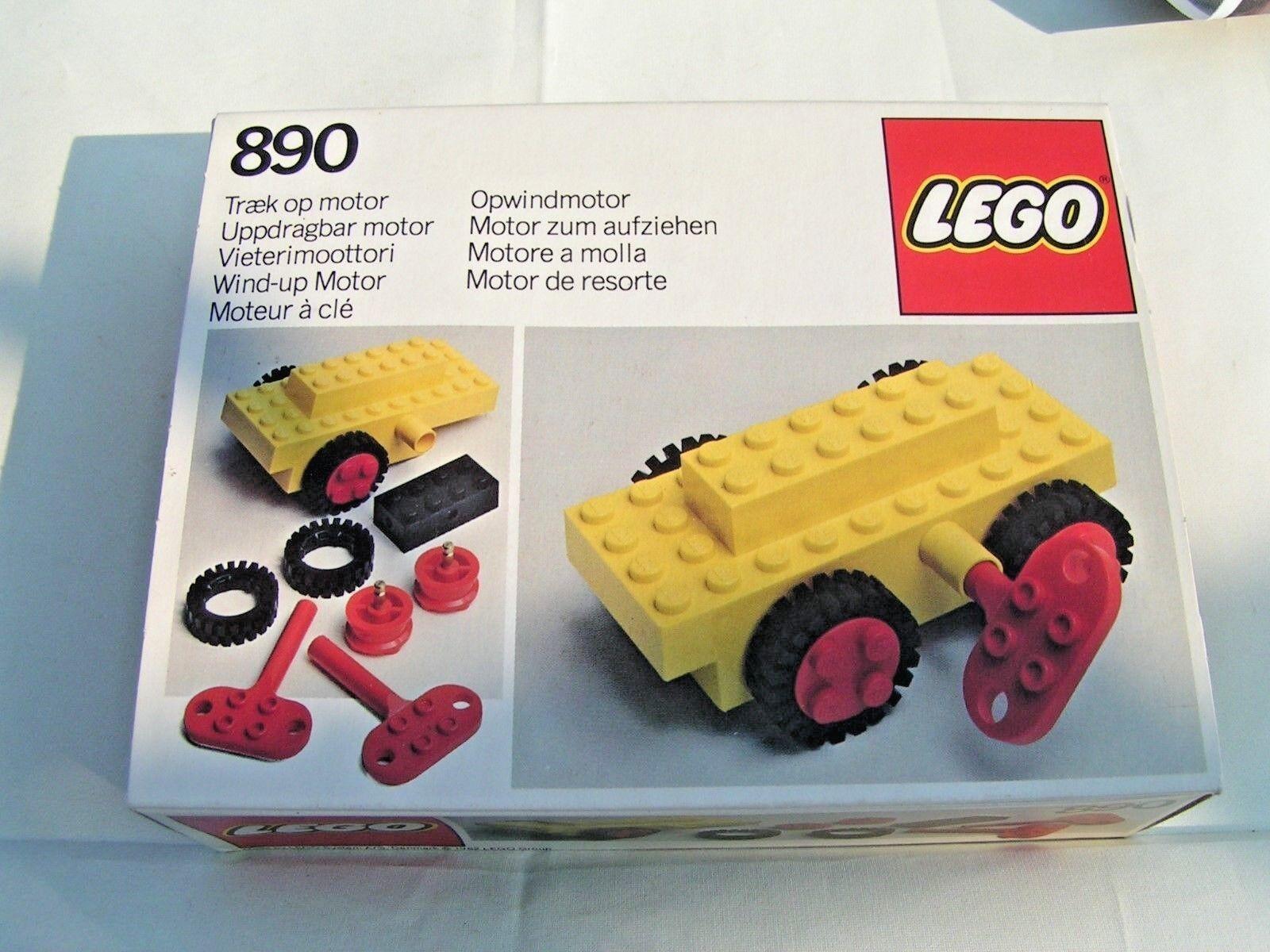 LEGO VINTAGE  - MOTEUR A CLE  890  -  RARE