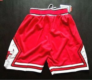 Chicago Bulls Vintage Basketball Game Shorts NBA Men s NWT Stitched ... a76a4b0afb0