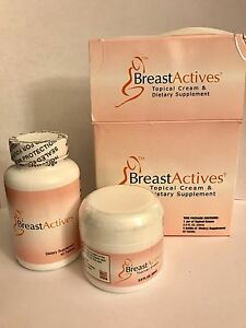 Breast Actives All Natural Breast Enhancement Combo Kit Damaged