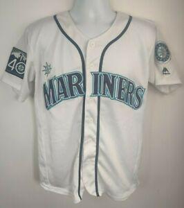 Mike Zunino #3 Jersey Seattle Mariners 40th Anniversary 1977-2017 Majestic M/L?