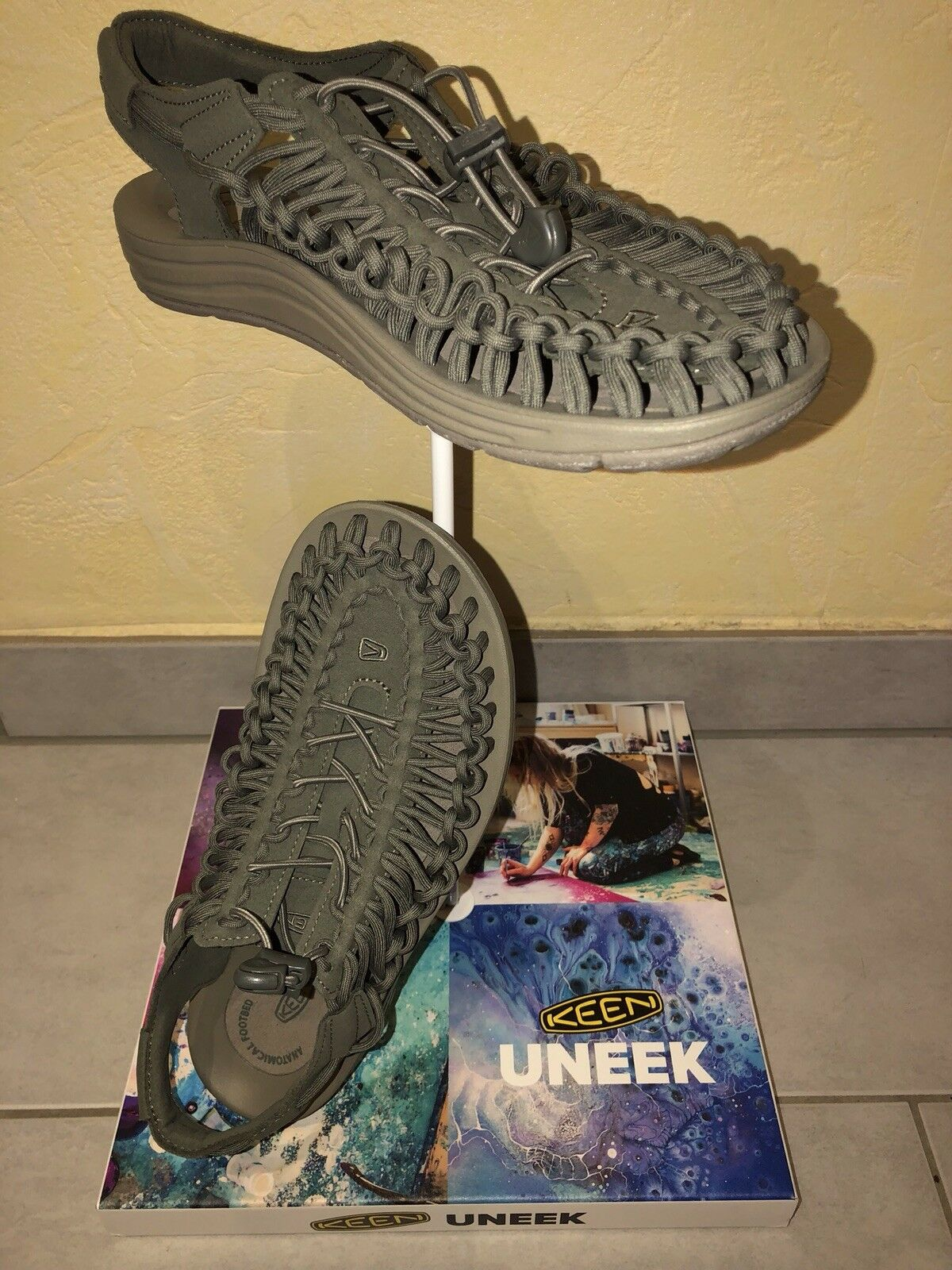 Keen Uneek Men Dusty Olive/Brindle Olive/Brindle Dusty Gr. 42 / US 9 1018676 8ca2dc