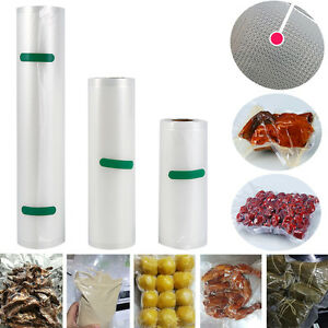 Kitchen Vacuum Food Sealer Rolls Pe Keep Fresh Bags