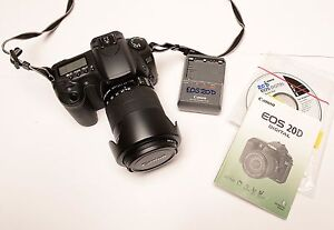 Canon-DS126061-EOS-20D-8-2-MP-Digital-Camera-W-18-135mm-Lens-NICE