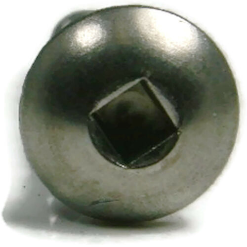 Stainless Steel Square Drive Truss Head Sheet Metal Screw #8 x 1 Qty 100