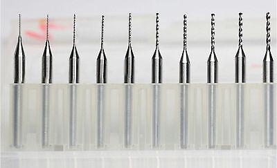 10 Pcs Carbide Micro Drill Bits 3.0mm