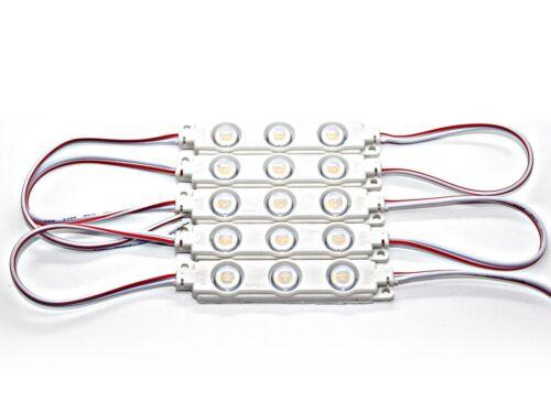 5730 SMD Chip Warmweiß Kaltweiß 180 Lumen 12V LED Module high Power 1,5W