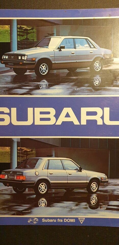 Brochure, Subaru