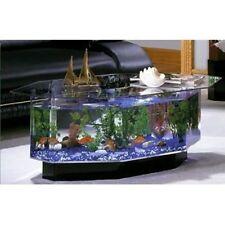 Item 1 Unique Coffee Table Aquarium 28 Gallon Fish Tank Hexagon Solid Glass  Top Kit New  Unique Coffee Table Aquarium 28 Gallon Fish Tank Hexagon Solid  ...