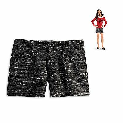 American Girl Cl Le Graces City Pantaloncini For Misura 12 Medium In Tweed Nuovo Bambole E Accessori Bambole Fashion
