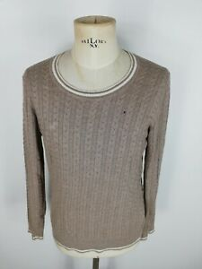 TOMMY-HILFIGER-Maglione-Cardigan-Sweater-Jumper-Pullover-Tg-XL-Uomo-Man
