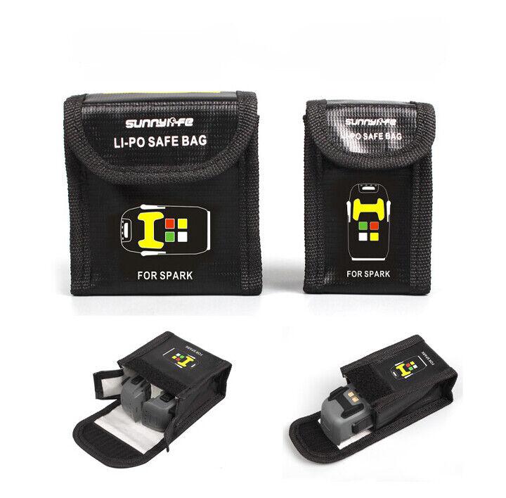 For DJI SPARK Lipo Safe Safety Battery Bag Guard Fire Resistant |UK Seller|
