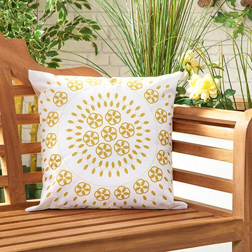 Raj naturel waterproof outdoor Scatter meubles de jardin Coussin Remplis Imprimé